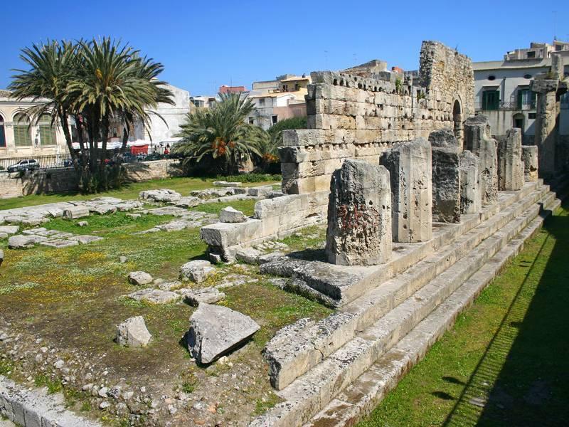 Tempio di apollo e artemide siracusa visit italy for Siracusa dove dormire