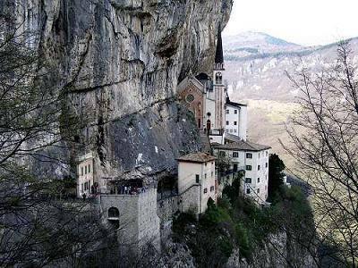 Santuario Della Madonna Della Corona Garda Visit Italy