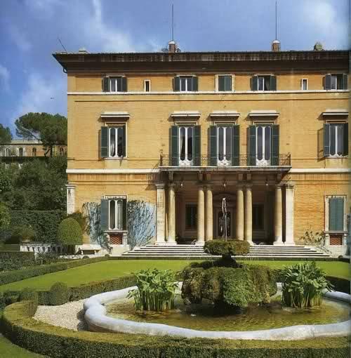 Villa Paolina Bonaparte Rome Visit Italy