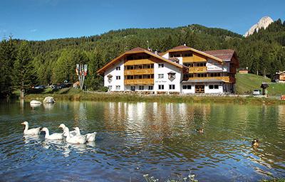 Hotel Lupo Bianco -Canazei Di Fassa (TN)
