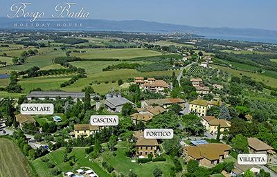 Holiday House Borgo Badia -Castiglione Del Lago (PG)