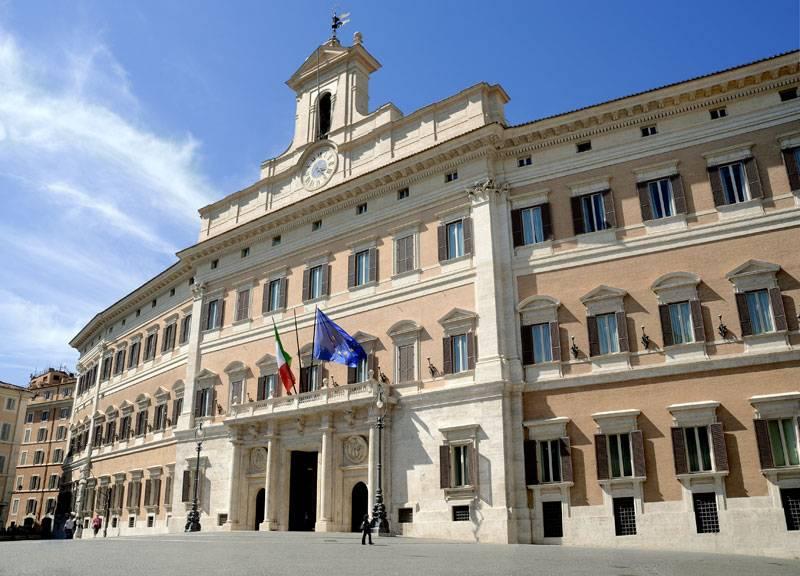 Palazzo di montecitorio roma visit italy for Camera dei deputati roma