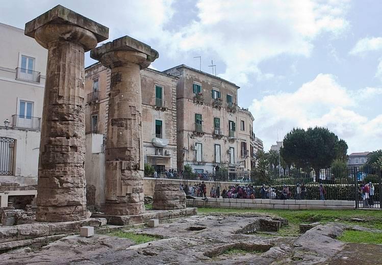 spesso Colonne Doriche Nettuno - Taranto - Visit Italy FR54