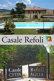 Casale Refoli - Casa Vacanze in Toscana - Casole d'Elsa
