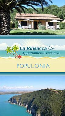 Case Vacanza Rinsacca - Populonia