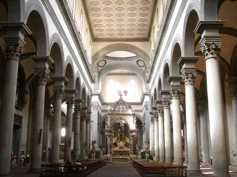 Basilica di Santo Spirito - Florence     - Visit Italy