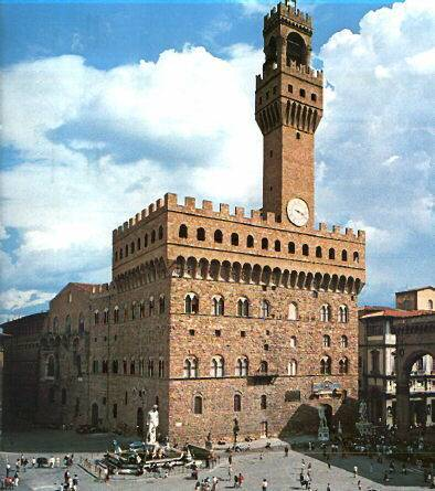 Palazzo Vecchio - Florence     - Visit Italy