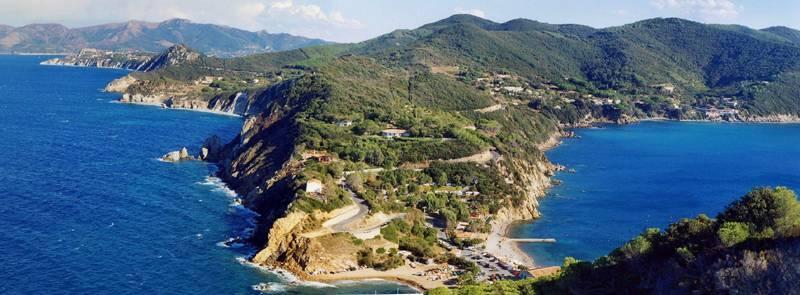 Spiaggia dell'Enfola - Portoferraio     - Visit Italy