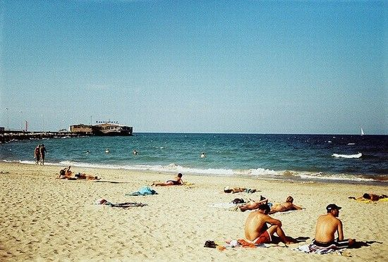 Spiaggia Libera - Rimini  - Visit Italy