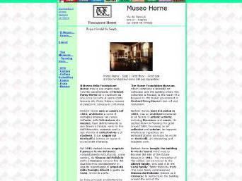 Museo della Fondazione Horne - Florence  - Visit Italy
