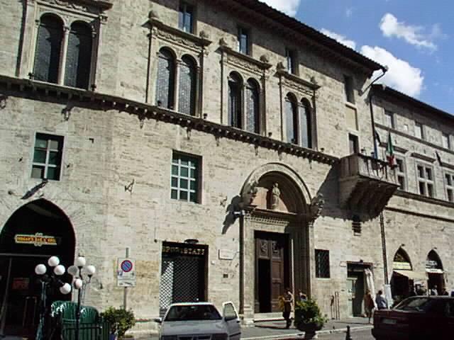 Palazzo del Capitano del Popolo - Perugia  - Visit Italy