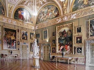 Palazzo Pitti: Galleria d'Arte Moderna - Florence
