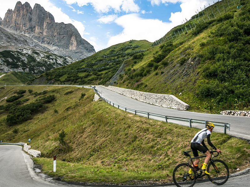 Passo Fedaia - Arabba  - Visit Italy