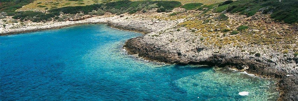 Vista panoramica delle Isole Tremiti