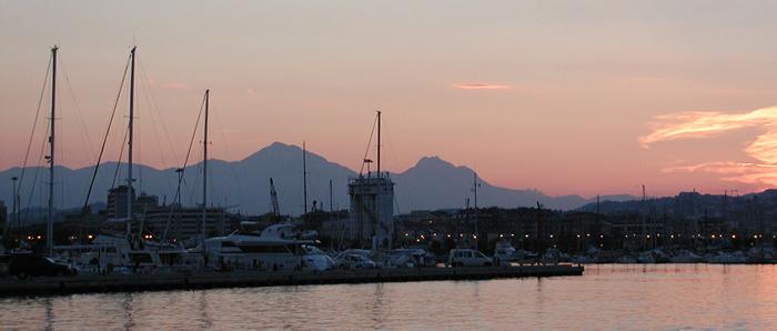 Pescara - Sunset on the Seaside