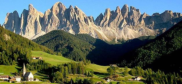 Paradiso tra le montagne