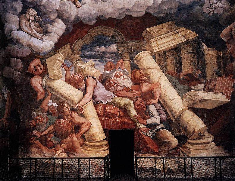 Palazzo Te - Sala dei Giganti - Mantova - Visit Italy