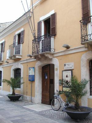 casa natale di Gabriele d'Annunzio