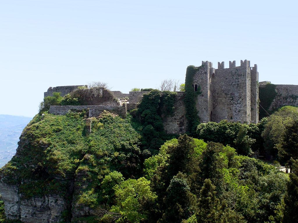 Vista del Castello di Venere