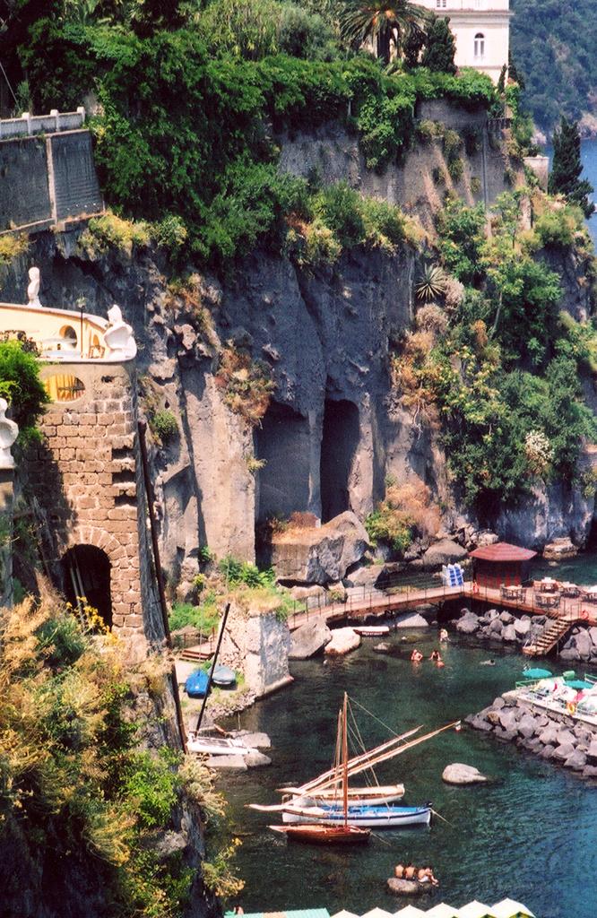 Vista del mare - Sorrento - Visit Italy