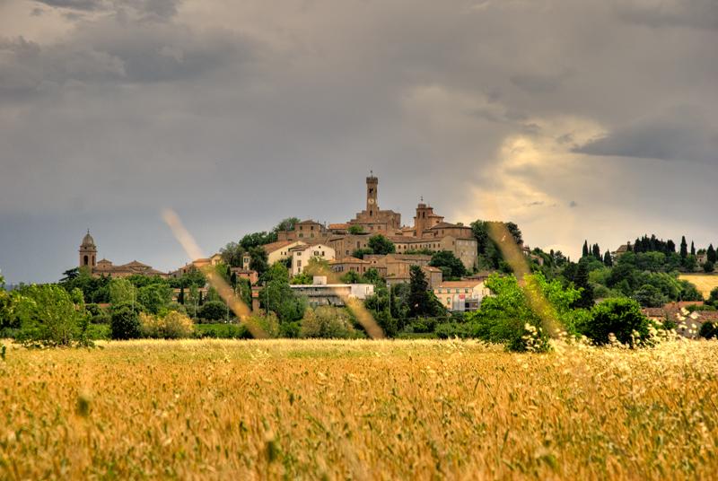 Vista di Sant'Arcangelo di Romagna