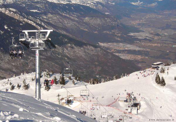 Le piste da sci di Andalo con impianti di risalita - Andalo - Visit Italy