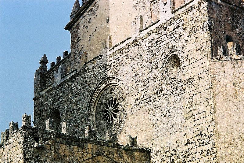 Rosone gotico - Erice - Visit Italy