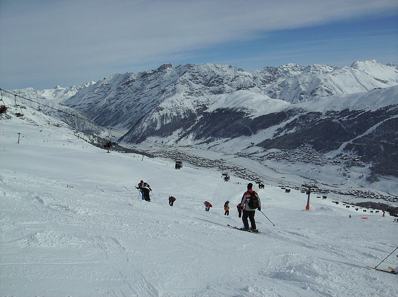 The view of Livigno