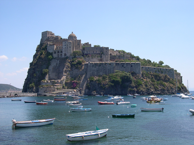 Vista del Castello Aragonese