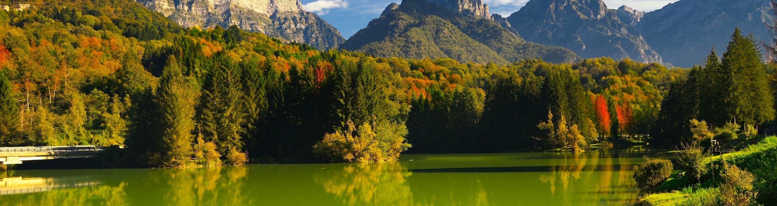 Lago di Barcis, Piancavallo e Dolomiti Friulane