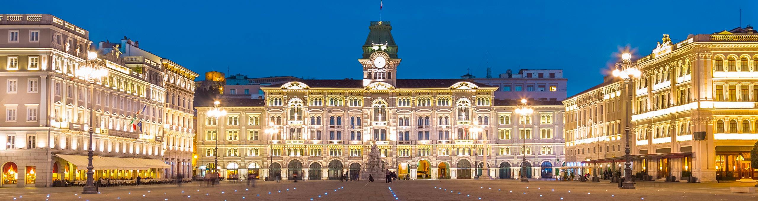 Trietse, palazzo del Municipio