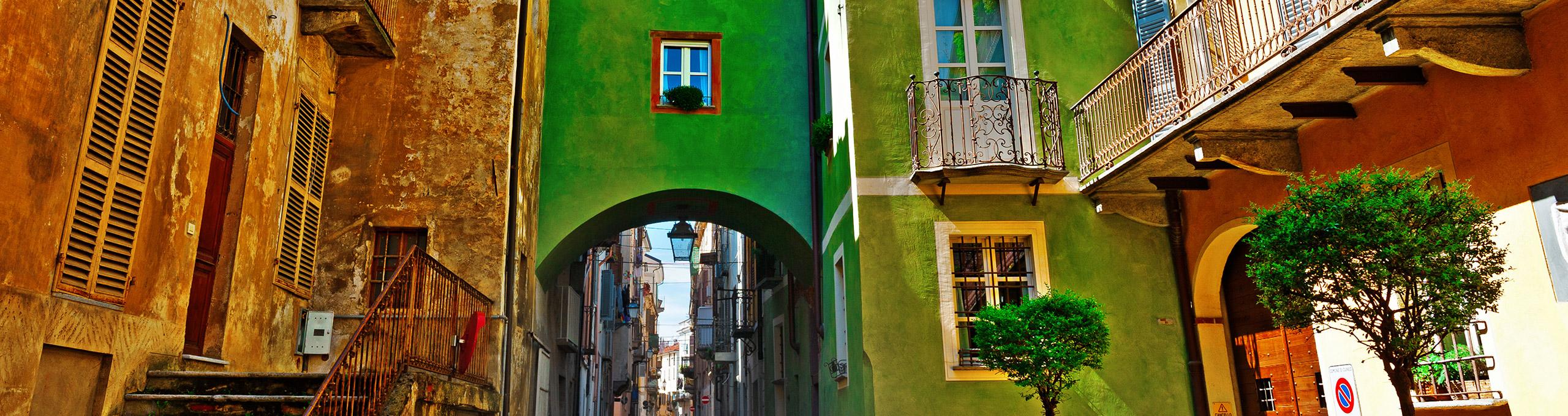 Cuneo, centro storico