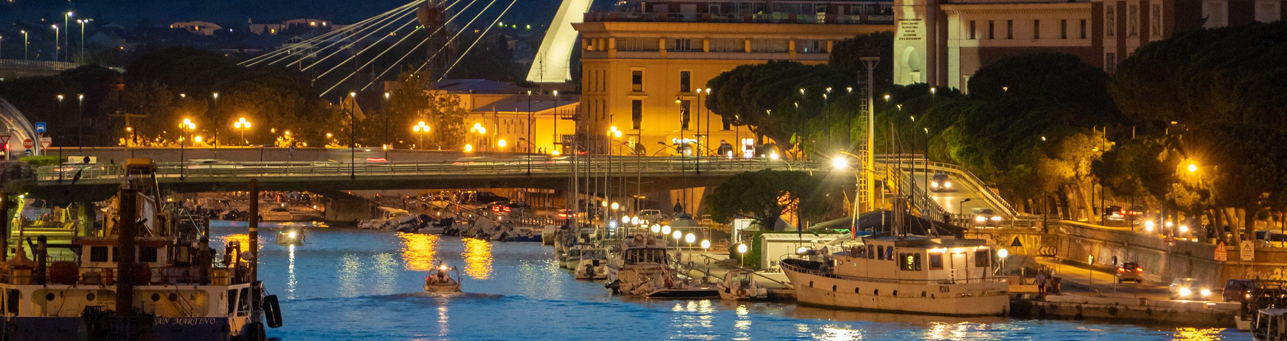 Pescara, porto turistico