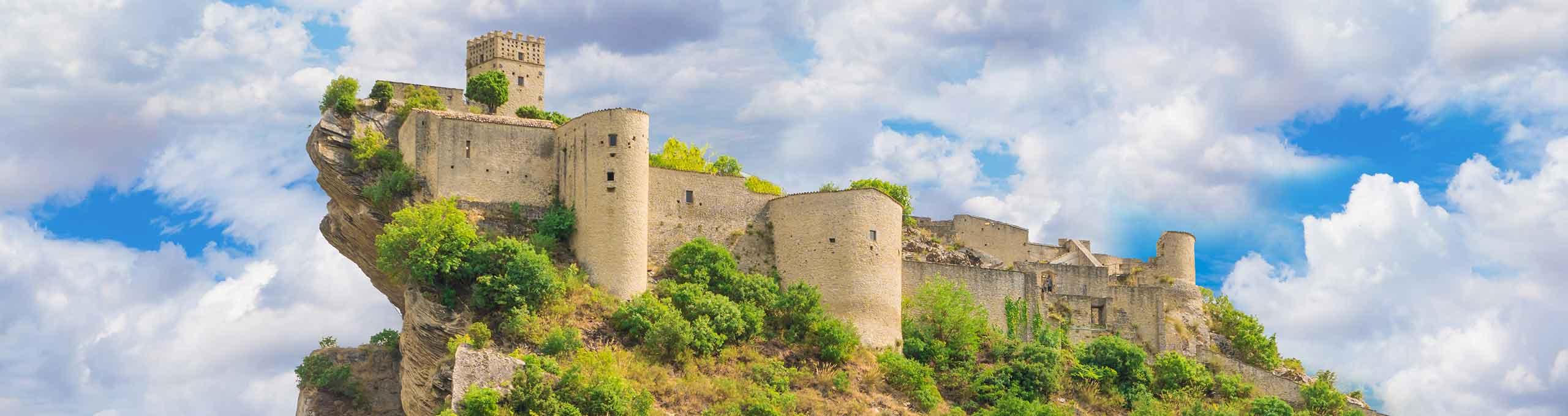 Roccascalegna, Parco Nazionale della Majella, castello sulla rocca
