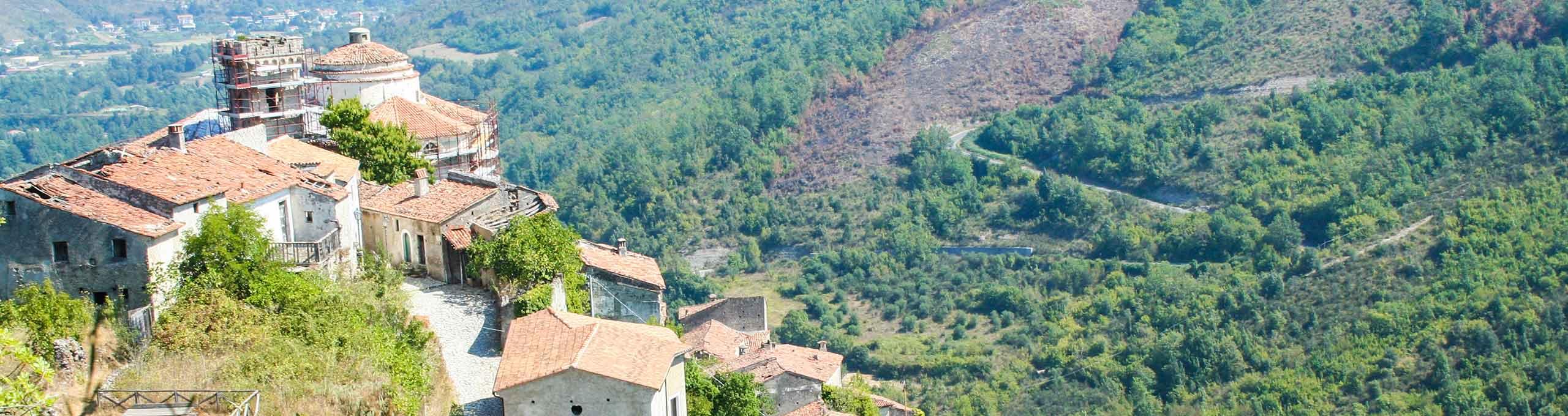 Laino Castello, Massiccio del Pollino