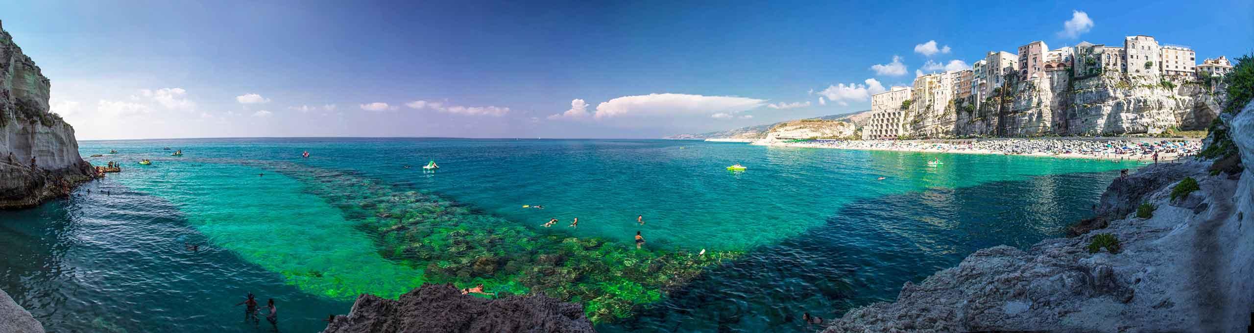 Spiaggia di Tropea, Costa degli Dei