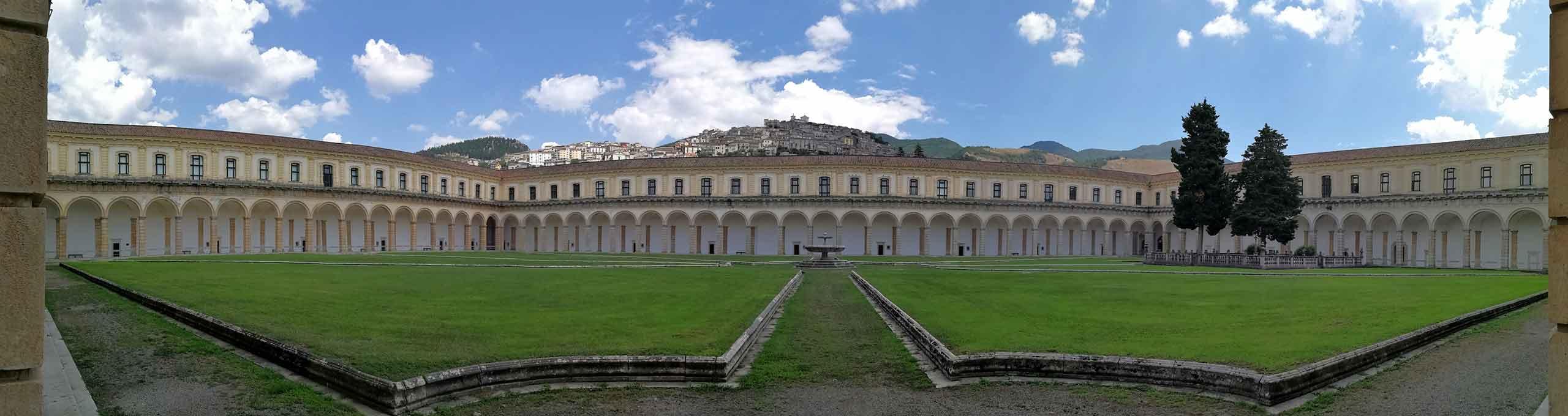 Padula, Cilento, Certosa di San Lorenzo