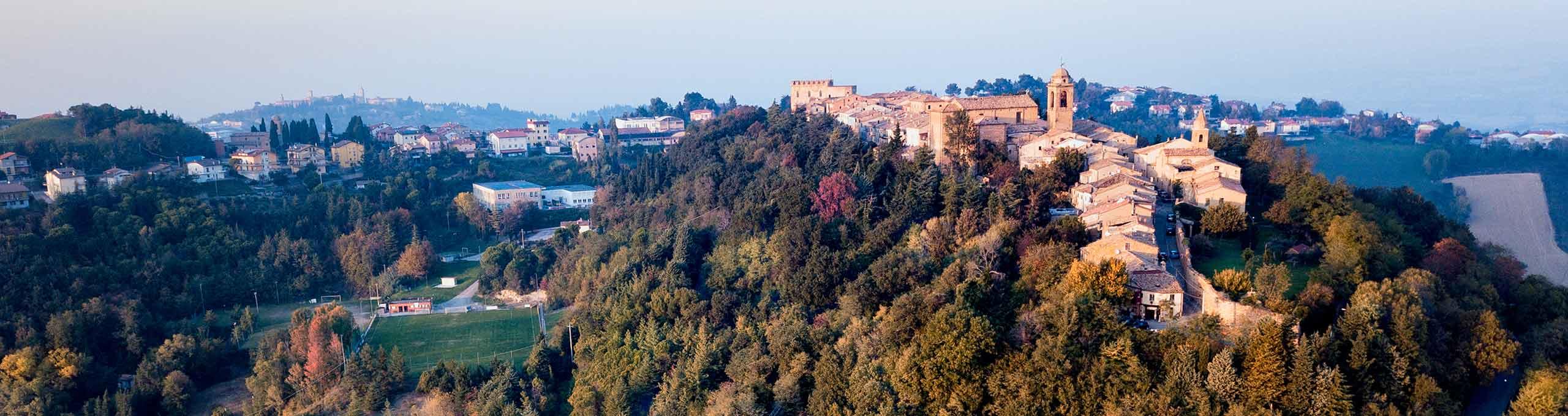 Mondaino, Riviera Romagnola, borgo medievale