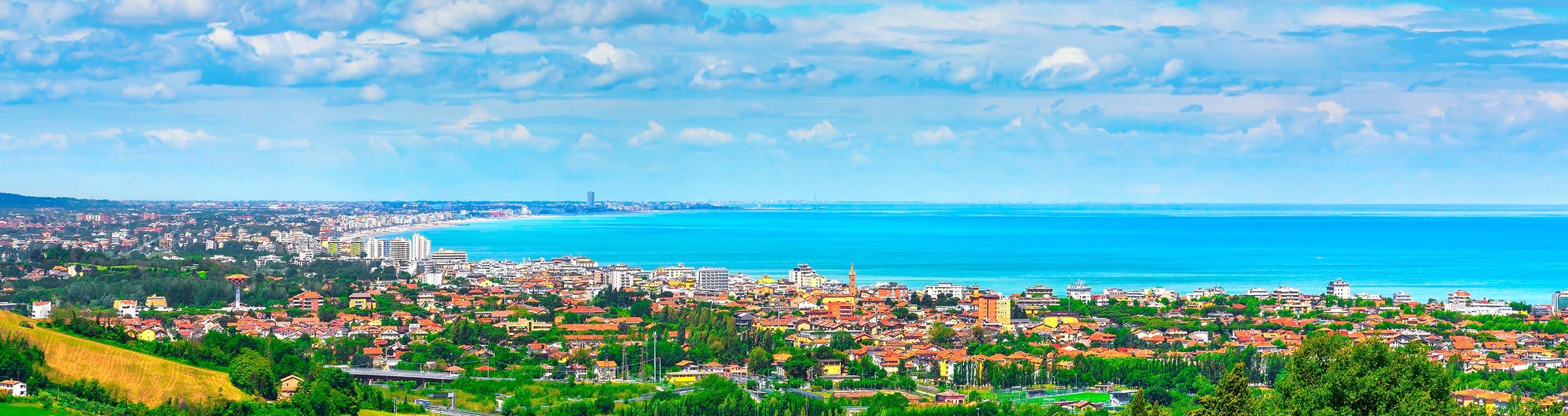 Riviera Romagnola, oltre 100 km di spiaggia