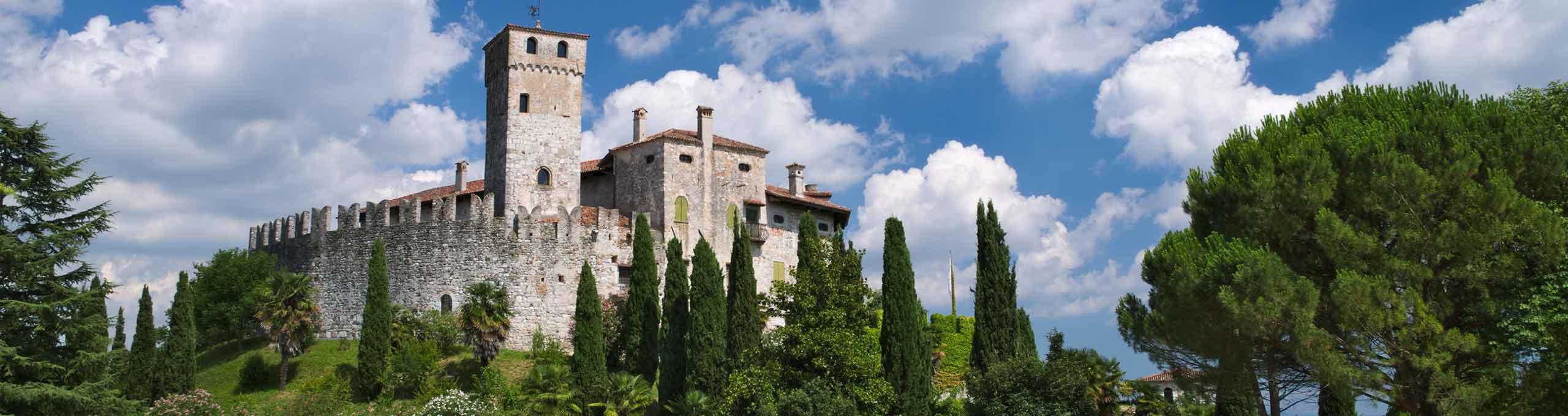 Fagagna, San Daniele e Friuli Collinare, Castello di Villalta