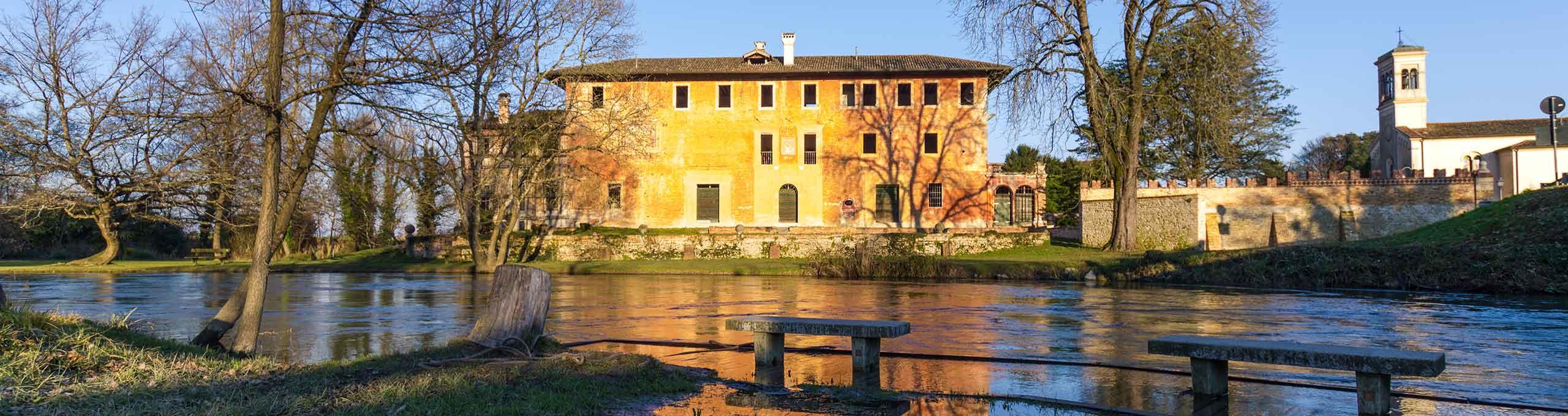 Rivignano Teor, Lignano Sabbiadoro e dintorni, Villa Ottelio Savorgnan sul fiume Stella