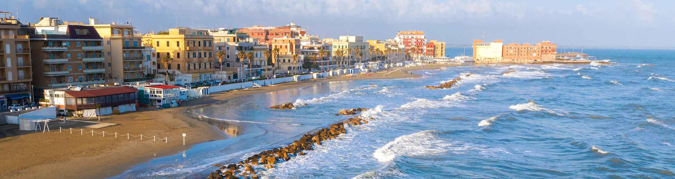 Litorale romano, la costa di Anzio