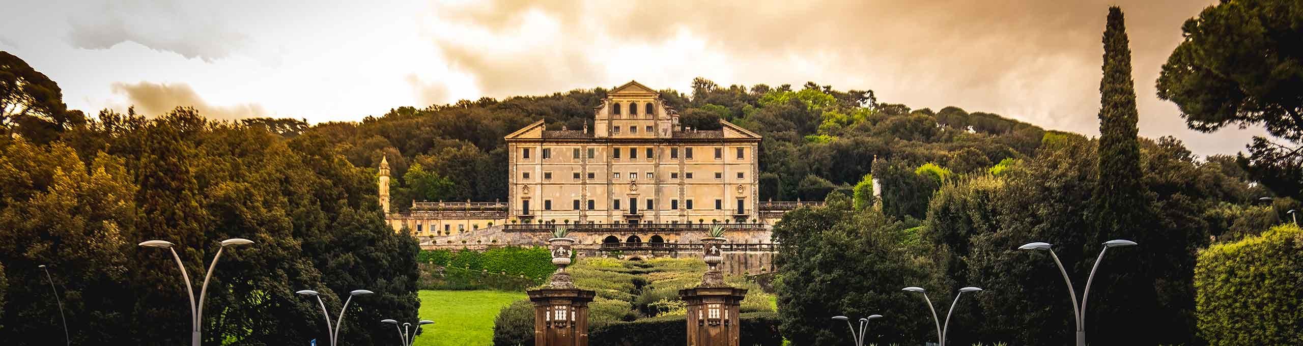 Frascati, Castelli Romani, Villa Aldobrandini