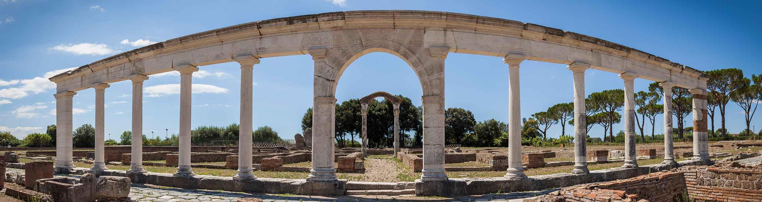 Minturno, Latina, rovine romane