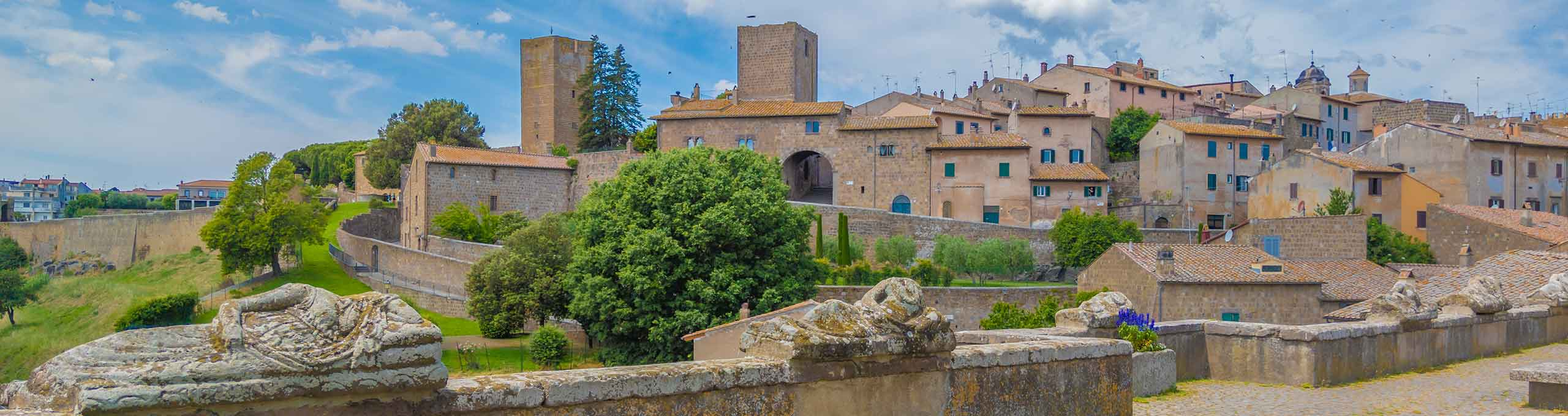 Viterbo, borgo medievale etrusco