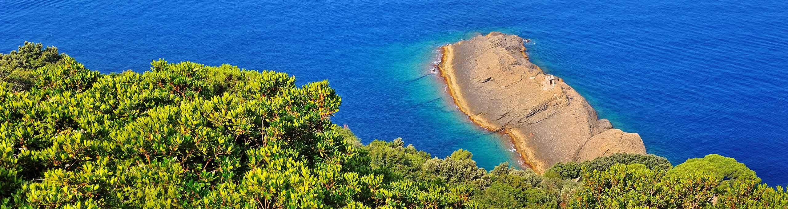 Punta Chiappa,  Golfo Paradiso, Liguria