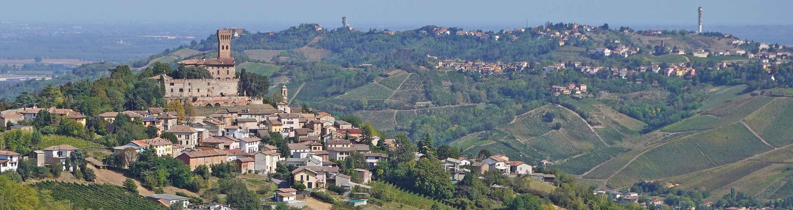 Broni, Oltrepò Pavese, castello di Cigognola