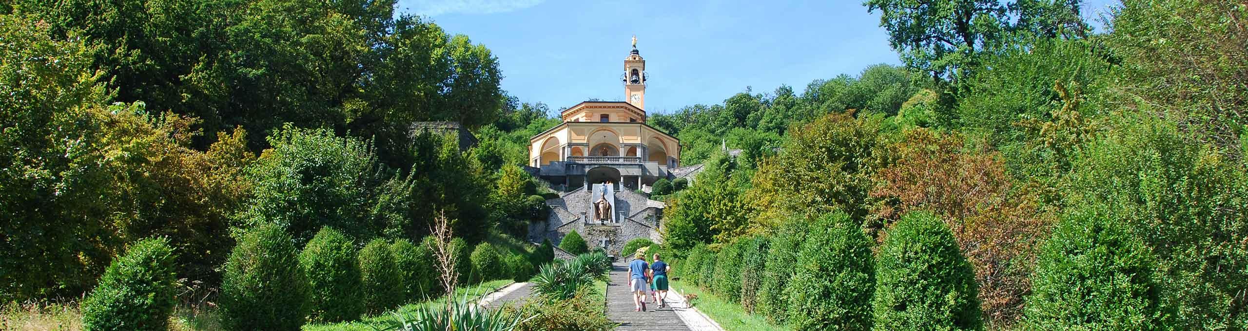 Imbersago, Lago di Como, Santuario Madonna del Bosco