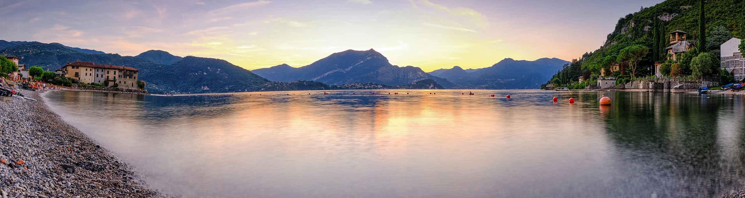 Liema, Lago di Como