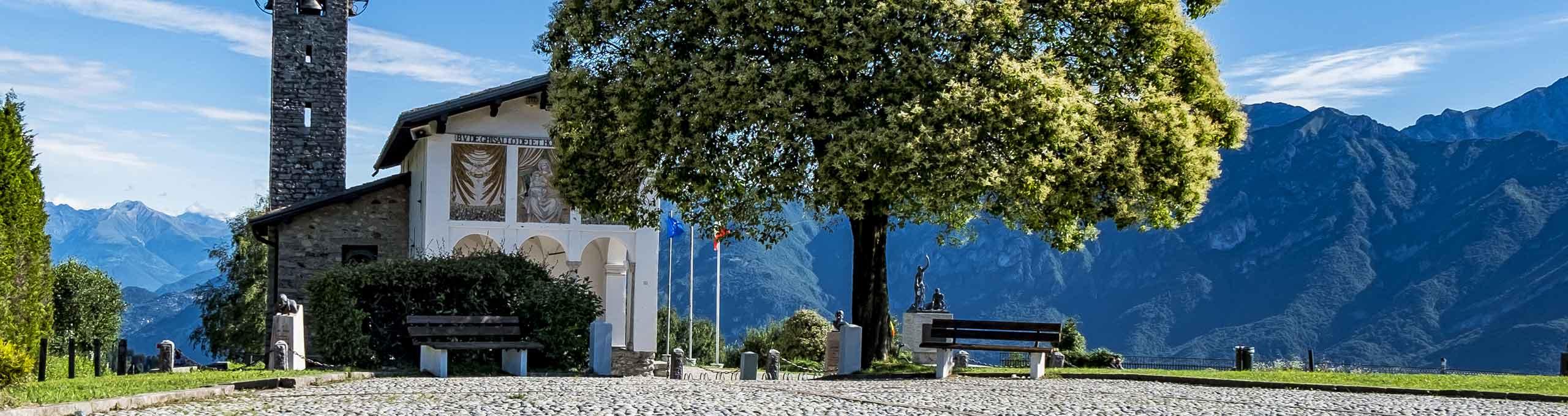 Magreglio, Lago di Como, Madonna del Ghisallo